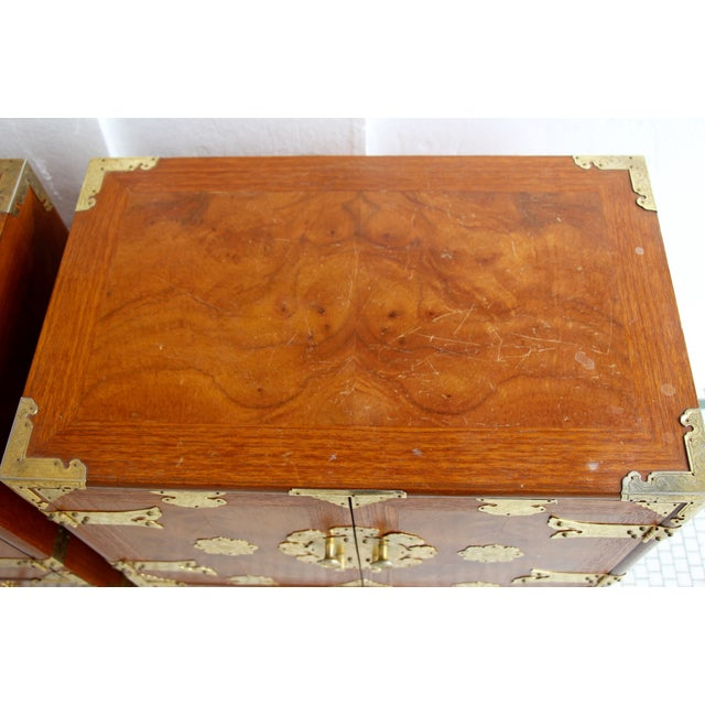 Asian-Style Butterfly Chests - Pair - Image 8 of 8