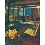 Image of Gerald McCabe Slat Settee for Pacific Furniture