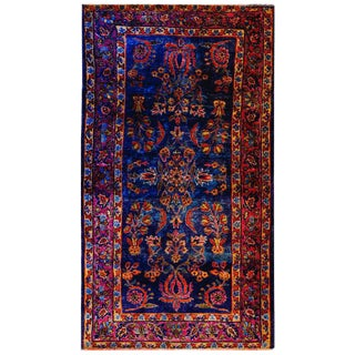 Early 20th Century Yazd Rug - 2′6″ × 4′8″