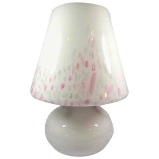Funfetti Murano Art Glass Mushroom Lamp