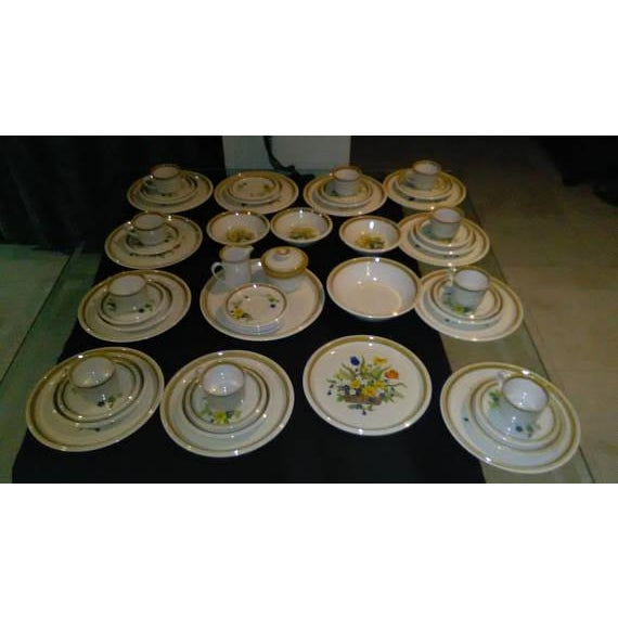 1950s Vintage Japanese Mikasa Stone Manor Garden Bouquet - Set of 54 - Image 2 of 10