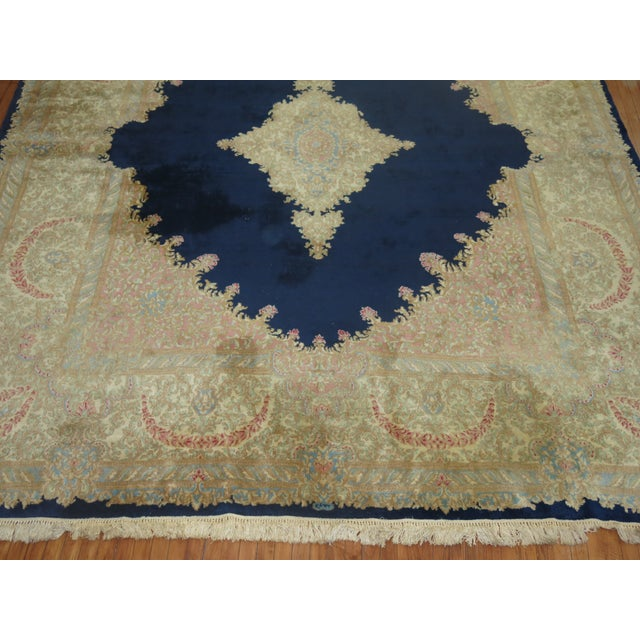 Vintage Persian Kerman Rug - 10'4'' x 13'2'' - Image 7 of 10
