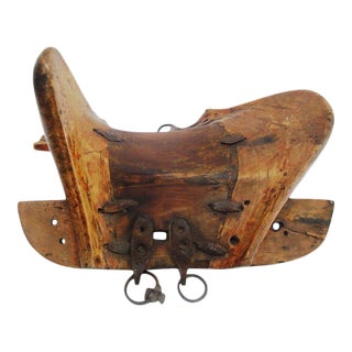 19th Century Mongolian Donkey Saddle