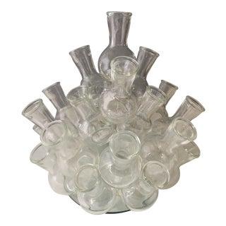 Italian Glass Cluster Vase