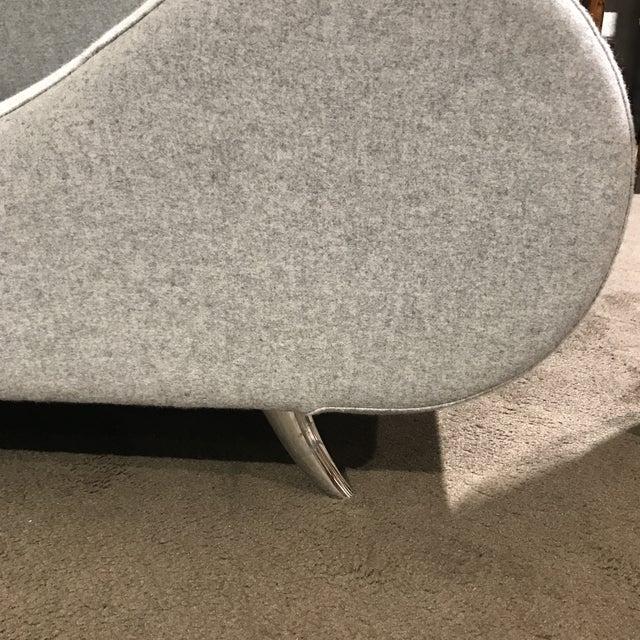 Light Gray Modern Concept Sofa - Image 3 of 6