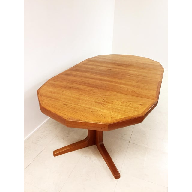 Vintage Danish Teak Extending Dining Table - Image 8 of 8
