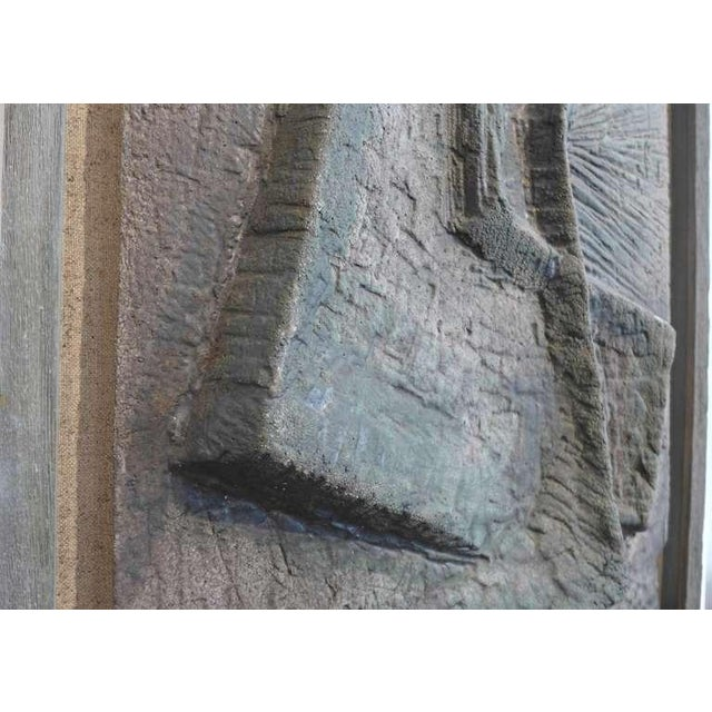 Abstract Bas-Relief by Lee Rosen - Image 3 of 4