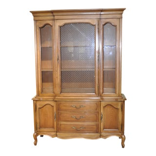 French Provincial Walnut Cabinet