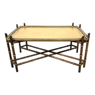 Kindel Faux Bamboo Coffee Table