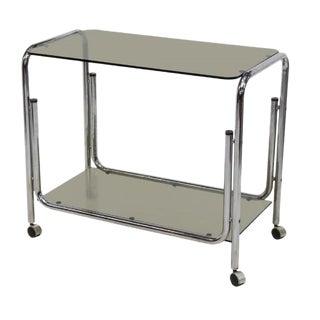 Mid-Century Modern Drink Cart Server