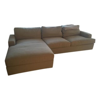 Room & Board Sectional with Chaise