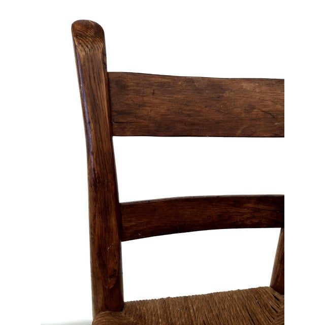 Antique French Farm Child's Chair - Image 3 of 10