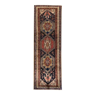 "Apadana - Vintage Persian Rug, 3'7"" x 10'6"""