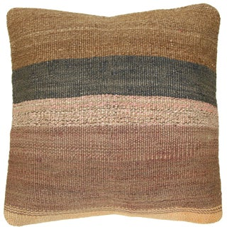 Rug and Relic Neutral Kilim Pillow