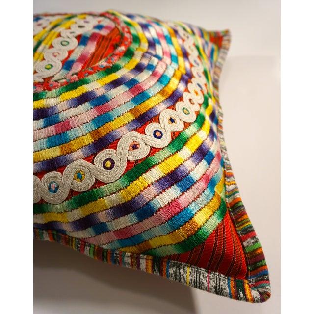 Upcycled Guatemalan Huipil Pillowcase - Image 3 of 5