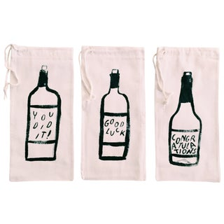 Celebration Wine Totes - Set of 3