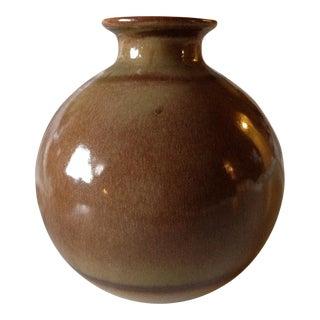 Vintage Haeger Pottery Sphere Vase