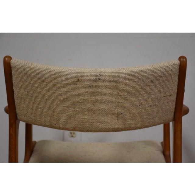 Mid-Century Teak Side Chair - Image 10 of 11
