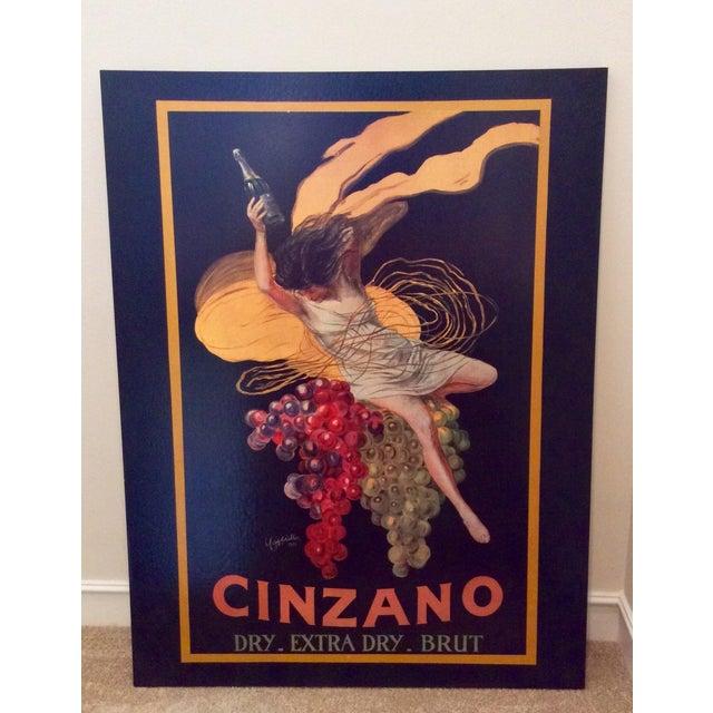 """Leonetto Cappiello """"Cinzano"""" """" Art Print on Canvas - Image 2 of 3"""