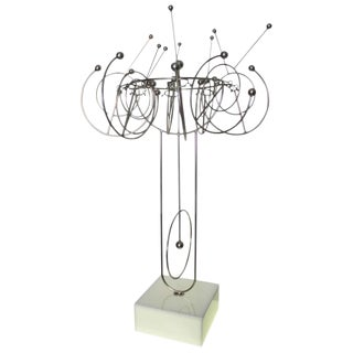 Joseph Burlini Kinetic Sculpture on Stand