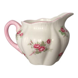 "Vintage Shelley Bone China ""Rose Spray"" Creamer"