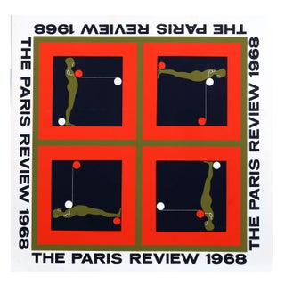 Ernest Tino Trova - Paris Review Silkscreen
