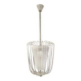 Murano Fountain Chandelier by Barovier and Toso