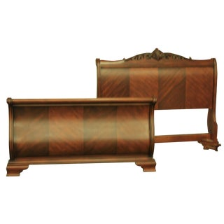Tuscany King Sized Sleigh Bed Frame