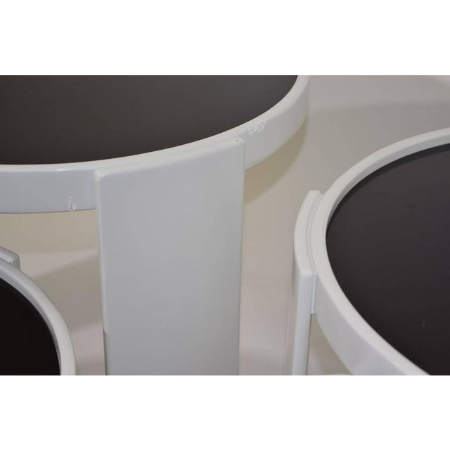 Set of Four Gianfranco Frattini for Cassina Nesting Tables - Image 3 of 6