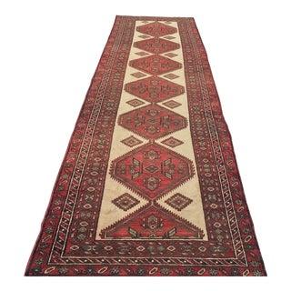 """Vintage Persian Karajeh Runner - 3'6"""" x 13'7"""""""
