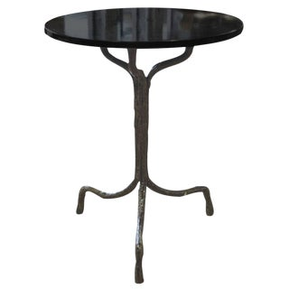 French Artist Made Cafe Table