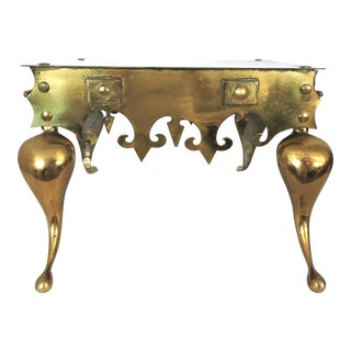English Brass 'Footman' Hearth Stand/Trivet