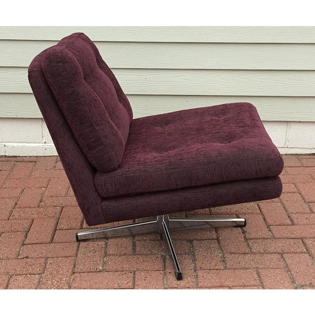 Mid-Century Modern Swivel Chair - Image 3 of 5