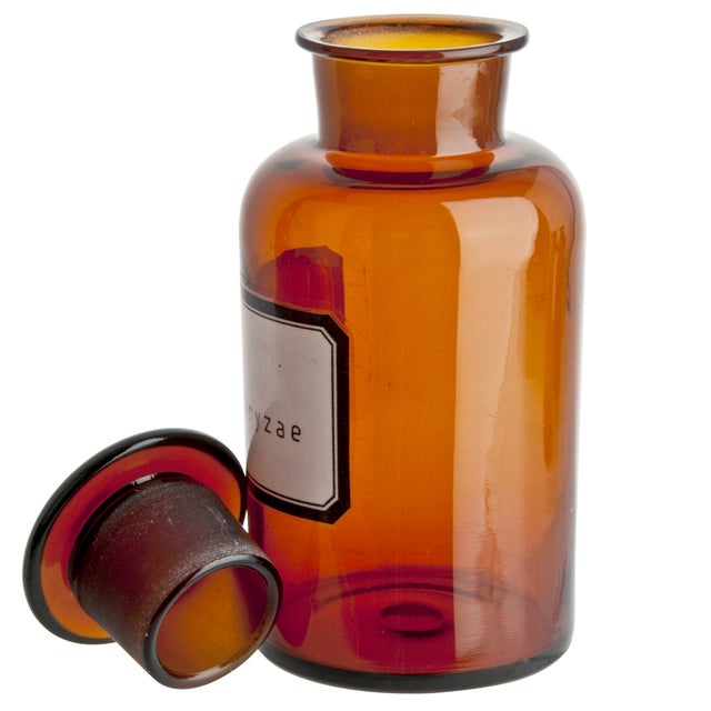 Image of Vintage German Apothecary Bottle
