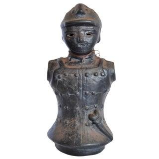 Cast Iron Asian Warrior