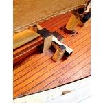 Image of Vintage English Large Handmade Wooden Ship