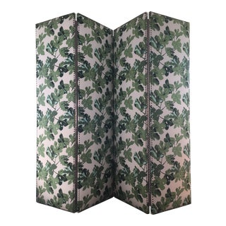 Peter Dunham Fig Leaf Folding Screen