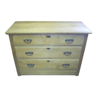 Pine Three-Drawer Chest
