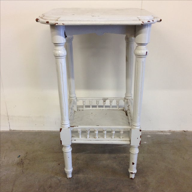 Rustic French Vintage Plant Stand - Image 2 of 10