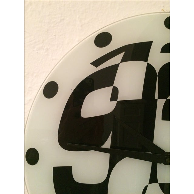 Pop Art Mod Pod Wall Clock - Image 5 of 11