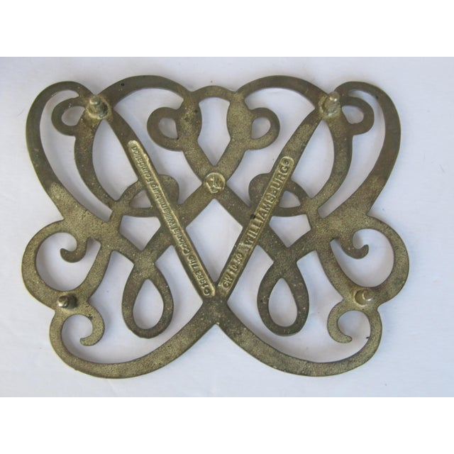 Brass Cypher Trivet - Image 4 of 4