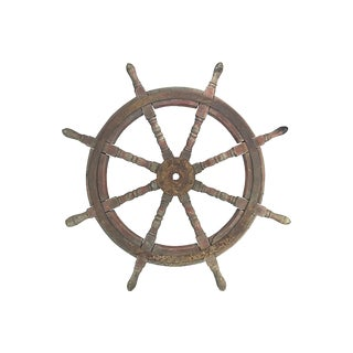 Antique Ship Wheel