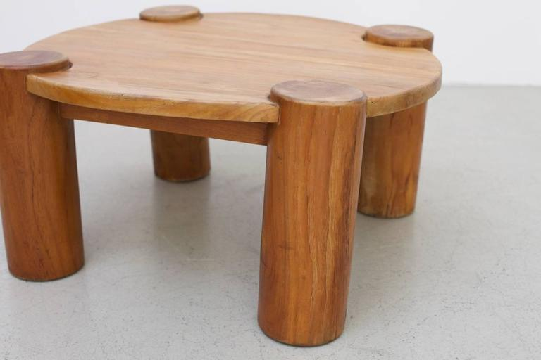 Heavy Solid Wood Coffee Table   Image 4 Of 5