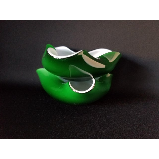 60's Murano Art Glass Ashtrays - A Pair - Image 5 of 8