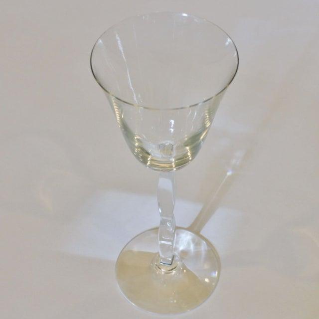 Baccarat Crystal Onde Wine Glasses - Set of 6 - Image 4 of 5