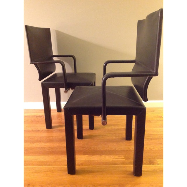 B&b Italia Contemporary Dining Chairs - A Pair - Image 2 of 7