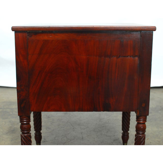 19th Century Federal Mahogany Work Table - Image 6 of 9