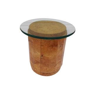 Edward Wormley Dunbar Olive Wood Pedestal