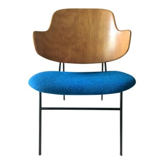 "Kofod Larsen ""Penguin"" Chair in Blue"
