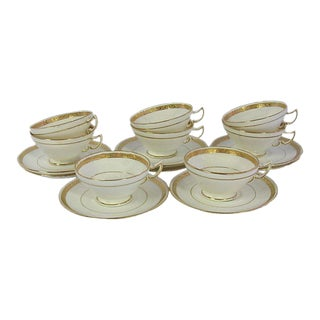 English Mintons Teacups & Saucers - Set of 8